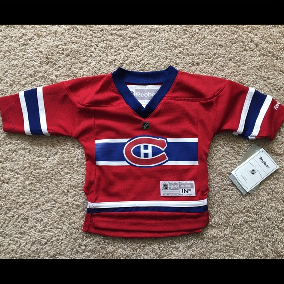 separation shoes 42d59 85dae NEW Reebok NHL Montreal Canadiens jersey 12m/24m NWT